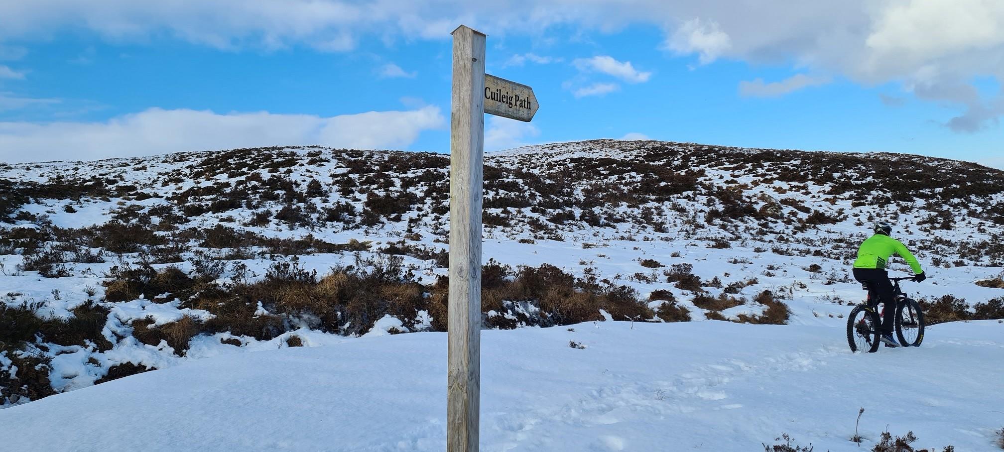 Cuileig path loop
